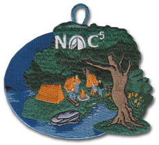NOC 5 Nights of camping patch