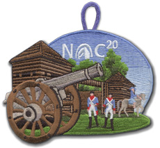 NOC 20 Nights of camping patch