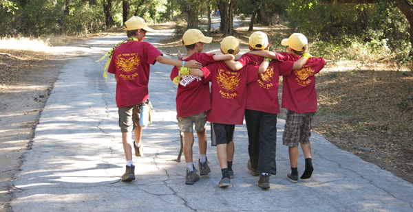 cub scout pack photo wearing custom cub scout pack t-shirts from ClassB