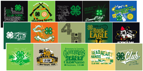 4 H Custom T Shirts 4 H Clubs Classb 174 Custom T Shirts