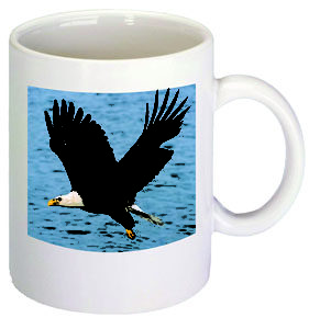 B551 11 oz. White Hampton Mug with Full Color Jet Direct print