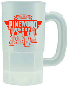 B552 14 oz or 22 oz Plastic Stein