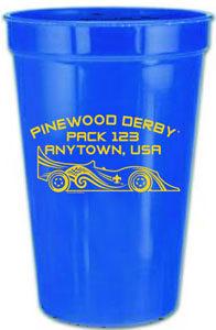B553 16 oz or 22 oz Stadium Cup