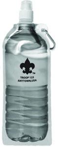 B735 18 oz BPA Free Foldable Water Bottle