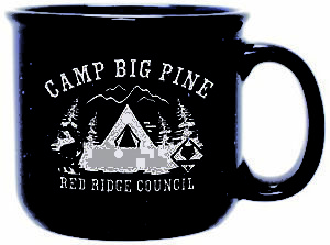 BB558 17 oz Camper Ceramic Mug for boy scouts