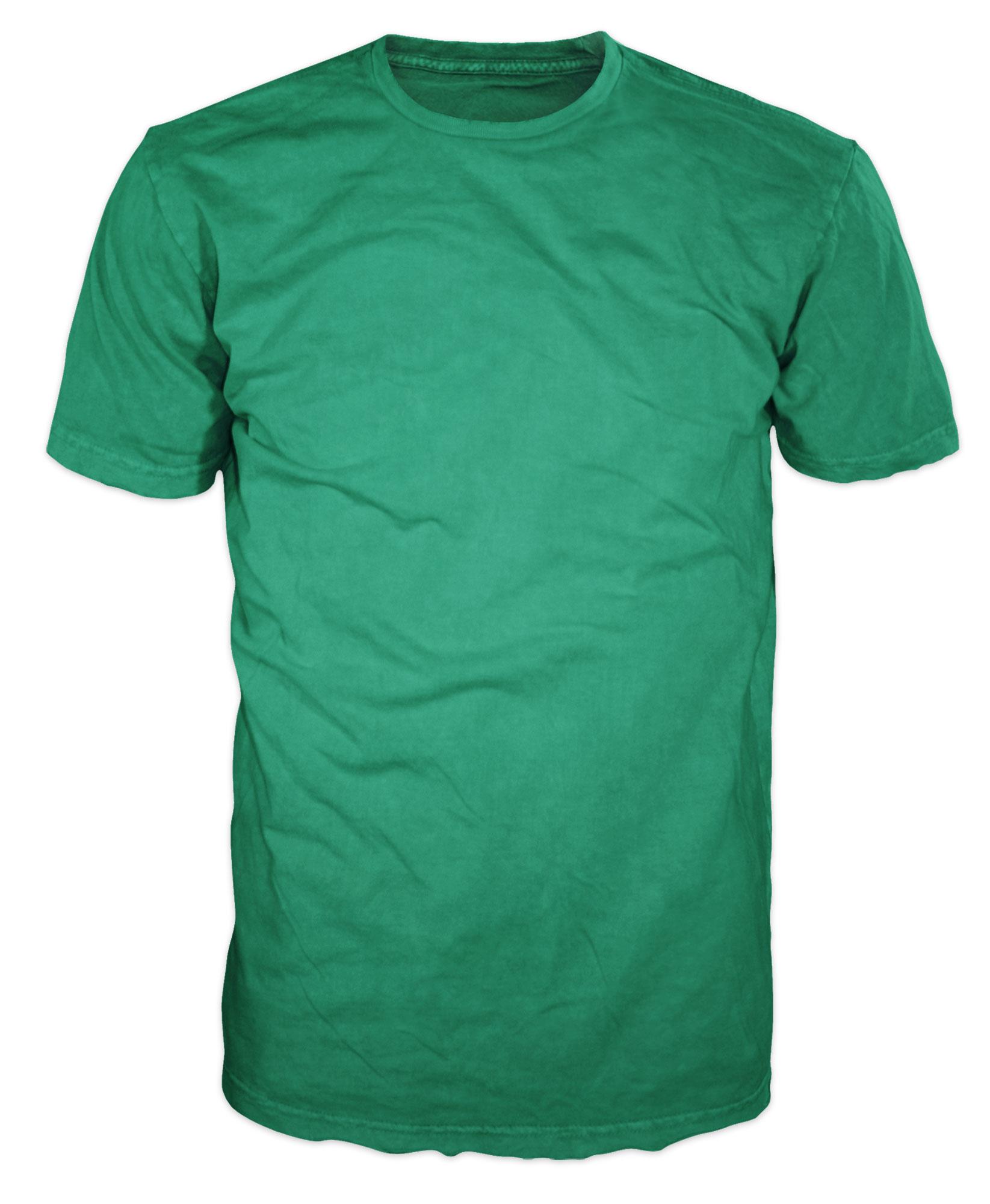 Shirt Color Guide: Greens - ClassB® Custom T-Shirts