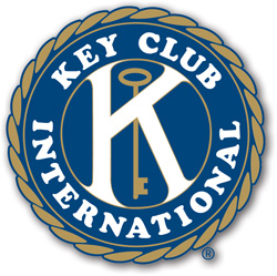 Key club logo for t-shirts and custom gear