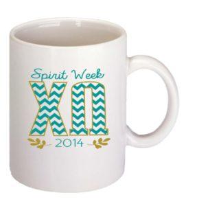 B555 11 oz. ceramic mug with custom print