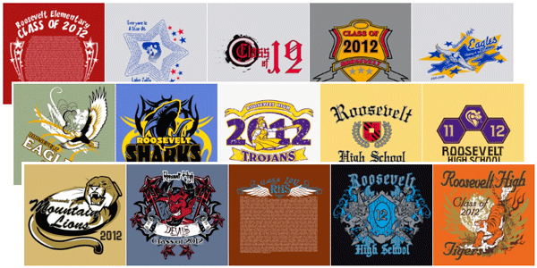 Class Reunion stock design ideas t-shirts