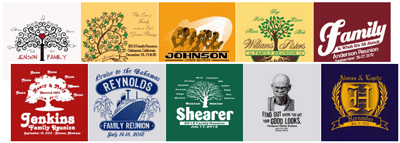 family reunion stock design ideas t shirts - Class Reunion T Shirt Design Ideas