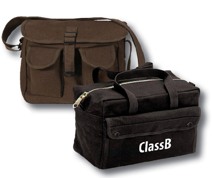 Custom Sporting Clays tournament ammo and range gear bags