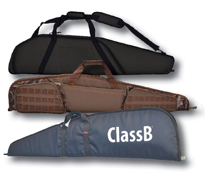 Custom sporting clay tournament shotgun and rifle bags