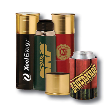 Sporting Clay tournament water bottles with custom logo