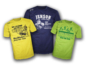 Lawn Care custom t-shirts