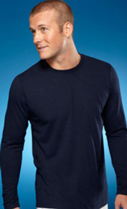B578 100% polyester wicking long sleeve t-shirt