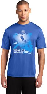 Wicking Performance florida Sea base T-shirt