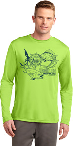 Wicking Performance florida sea base long sleeve T-shirt