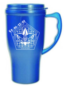 16 ounce insulated auto mate mug for cub scouts