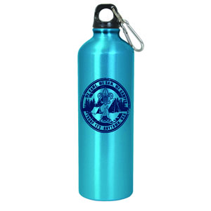 24 ounce aluminum drink bottle