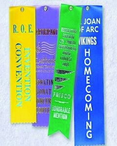 Ribbons for cub scout awards and events