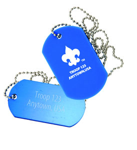 B755 Silicone Dog tag
