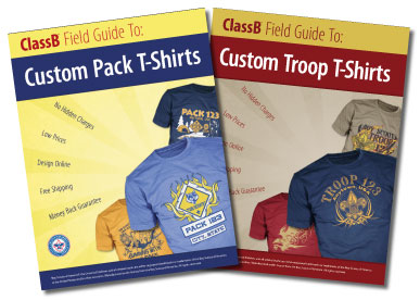 boy scout troop and cub scout catalogs for custom t-shirts