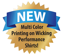 Multicolor wicking ink now available on scouting t-shirts