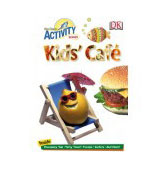 kids' cafe cooking food activity book