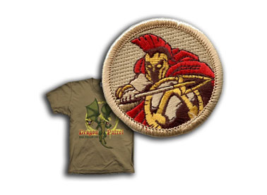 custom boy scout troop patrol t-shirts