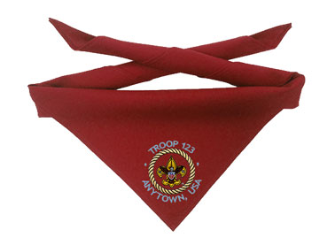custom scout neckerchiefs
