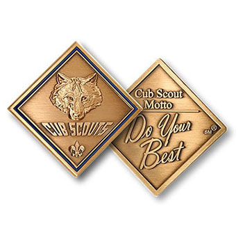 do your best cub scout pack promise coin