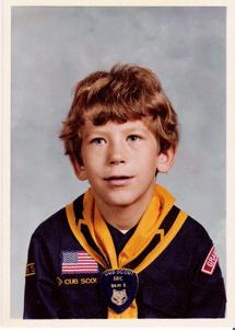 Eric Hilferding company CEO as a cub scout