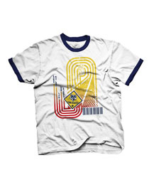 cub scout race track pinewood derby t-shirt