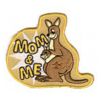 cub scout mom and me event stock patch