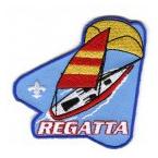 raingutter regatta sailboat cub scout event patch