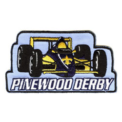 cub scouts pinewood derby and regatta event patches