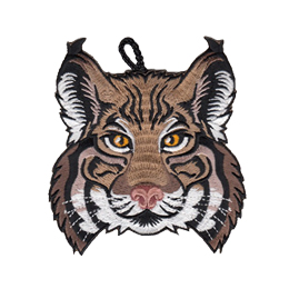 cub scout bobcat rank critter head patch