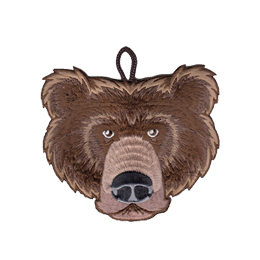 cub scout bear rank critter head patch