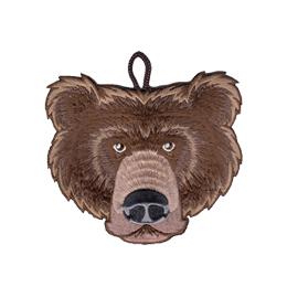 cub scout bear rank critter head patch
