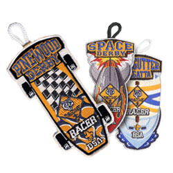 stock cub scout pinewood derby and raingutter regatta event patches