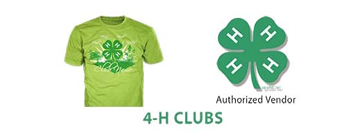 4h club custom t-shirts